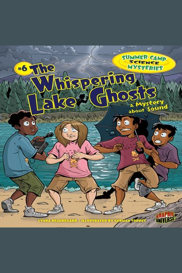 The Whispering Lake Ghosts - A Mystery about Sound - cover