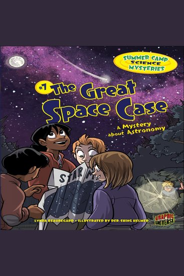 The Great Space Case - A Mystery about Astronomy - cover