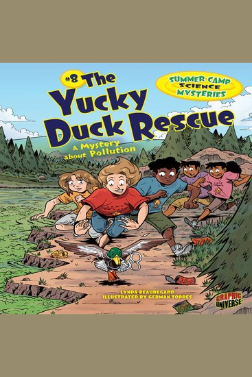 The Yucky Duck Rescue - A Mystery about Pollution - cover