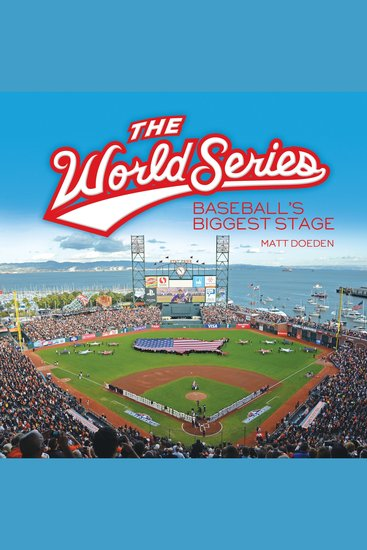 The World Series - Baseball's Biggest Stage - cover