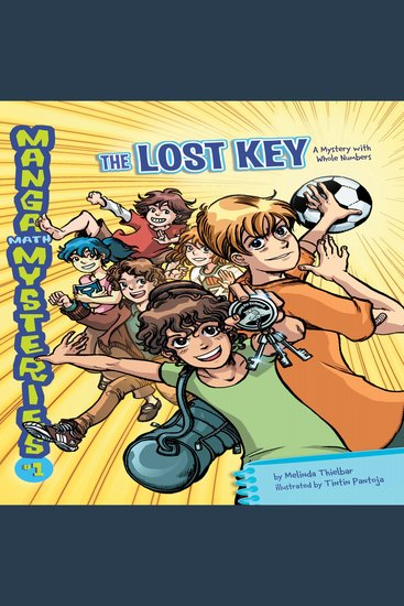 The Lost Key - A Mystery with Whole Numbers - cover