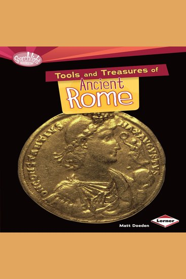 Tools and Treasures of Ancient Rome - cover