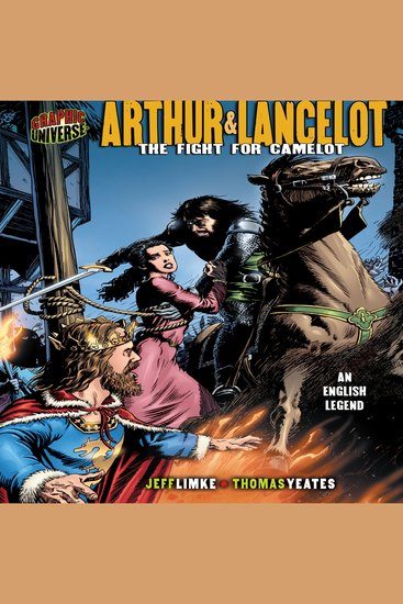 Arthur & Lancelot - The Fight for Camelot: an English Legend - cover
