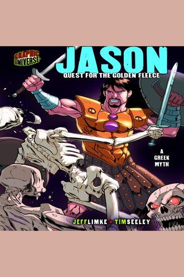 Jason - Quest for the Golden Fleece: a Greek Myth - cover