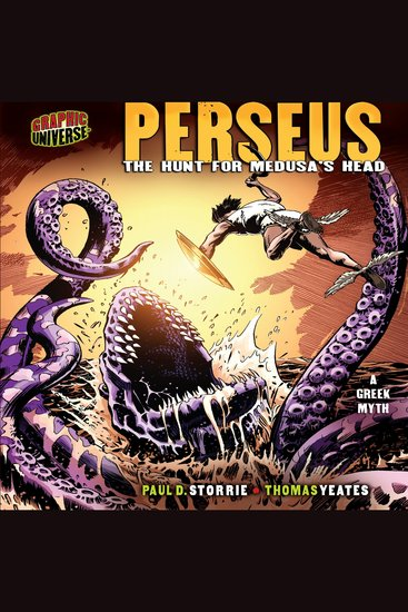 Perseus - The Hunt for Medusa's Head: a Greek Myth - cover