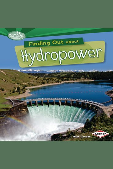 Finding Out about Hydropower - cover