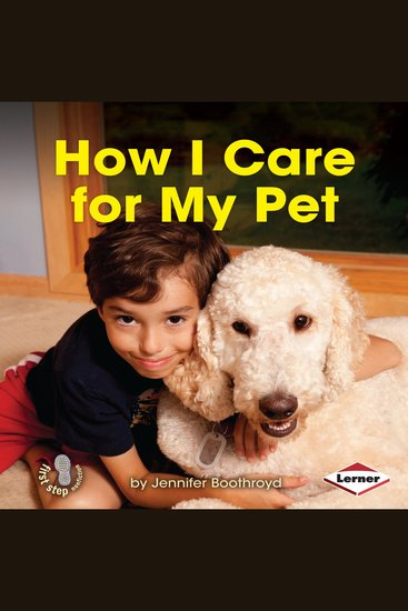 How I Care for My Pet - cover