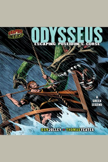 Odysseus - Escaping Poseidon's Curse - a Greek Legend - cover