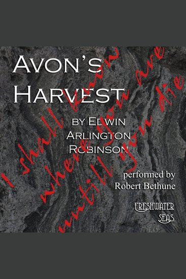 Avon's Harvest - cover