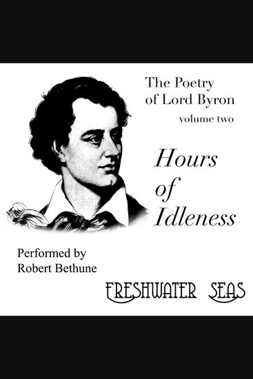 Hours of Idleness - Poetry of Lord Byron - cover