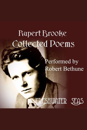 Rupert Brooke Collected Poems - cover