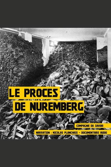 Le procès de Nuremberg - cover