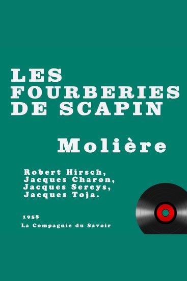 Les fourberies de Scapin - cover