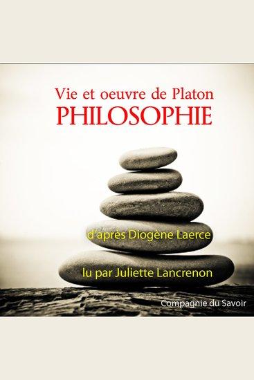 Platon - Classique de philosophie - cover