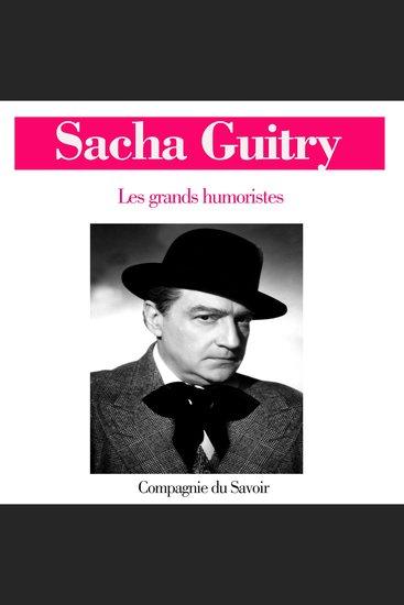 Sacha Guitry - cover