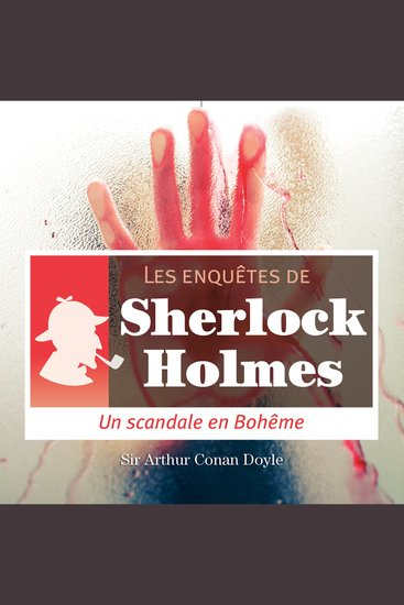 Scandale en Bohême - Les aventures de Sherlock Holmes - cover