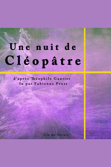 Une nuit de Cléopâtre - cover