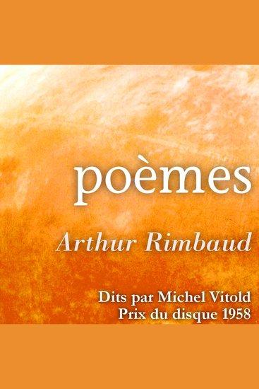 Arthur Rimbaud lues par Michel Vitold - cover