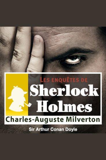 Charles Auguste Milverton - Les aventures de Sherlock Holmes - cover