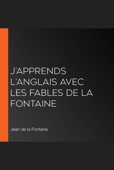 J'apprends l'anglais avec les fables de La Fontaine - cover