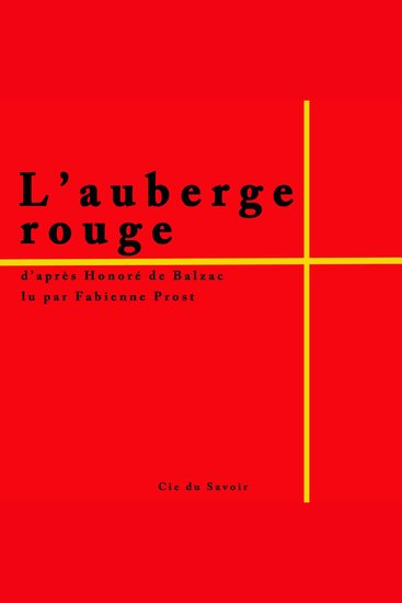 L'auberge rouge - cover
