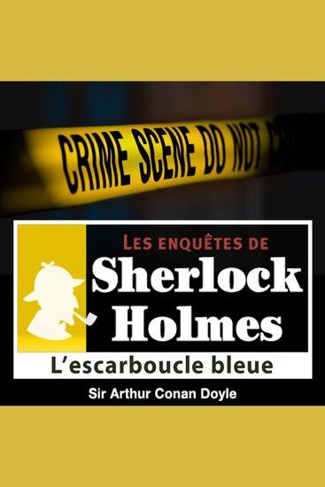L'escarboucle bleue - Les aventures de Sherlock Holmes - cover