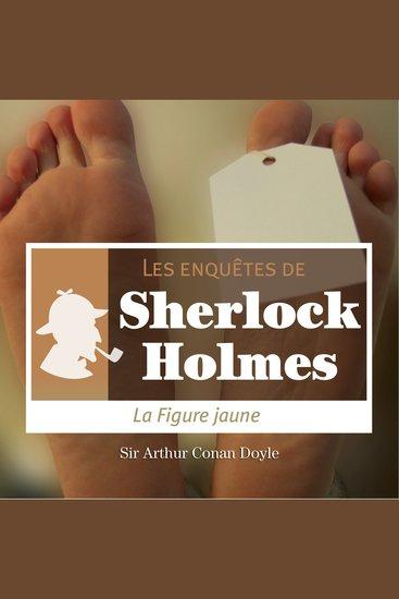 La figure jaune - Les aventures de Sherlock Holmes - cover