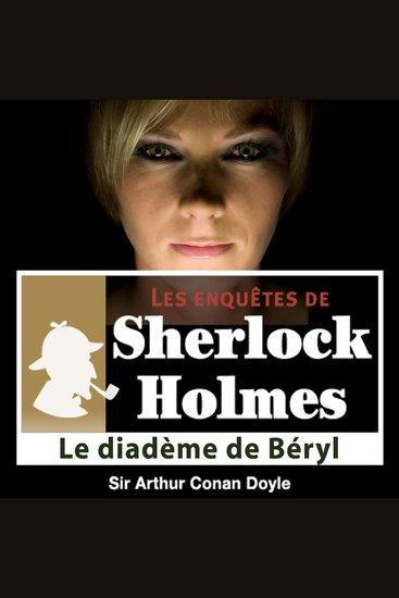 Le diadème de Béryls - Les aventures de Sherlock Holmes - cover