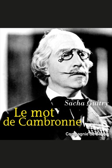 Le mot de Cambronne - cover