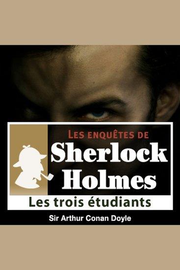 Les 3 étudiants - Les aventures de Sherlock Holmes - cover