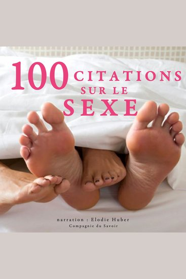 100 citations sur le sexe - Collection 100 citations - cover