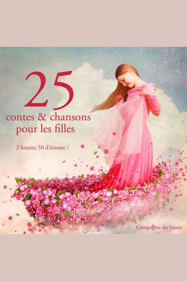 25 contes et chansons pour les filles - cover
