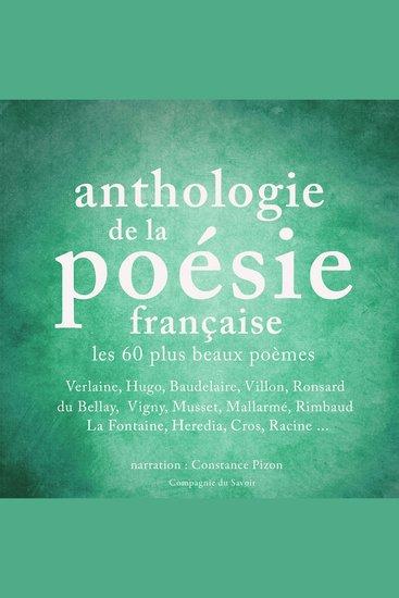 Anthologie de la poésie française - cover