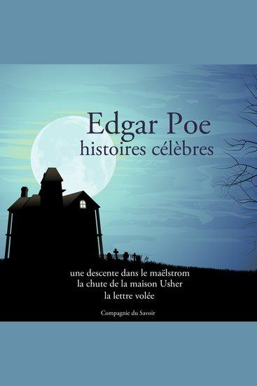 Edgar Poe: 3 plus belles histoires - cover