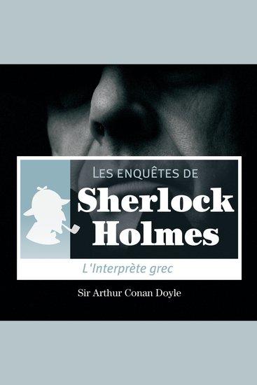 L'interprète grec - Les aventures de Sherlock Holmes - cover