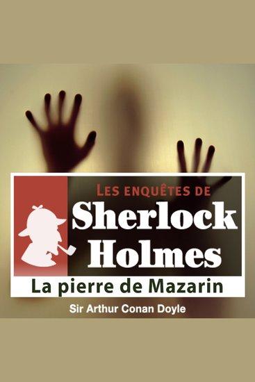 La pierre de Mazarin - Les aventures de Sherlock Holmes - cover