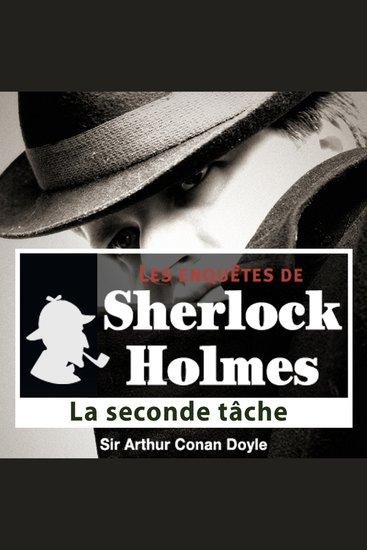 La seconde tâche - Les aventures de Sherlock Holmes - cover