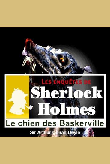 Le chien des Baskerville - Les aventures de Sherlock Holmes - cover