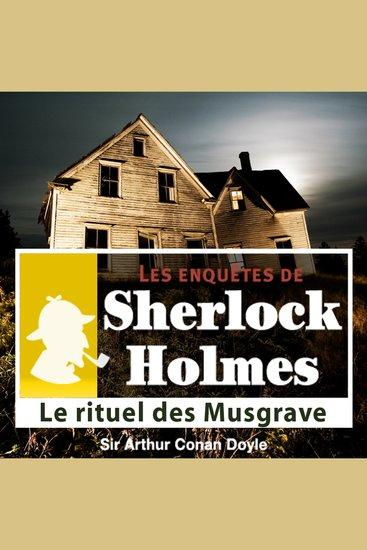 Le rituel des Musgrave - Les aventures de Sherlock Holmes - cover