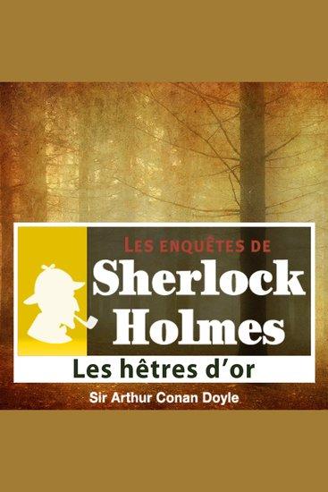 Les hêtres d'or - Les aventures de Sherlock Holmes - cover