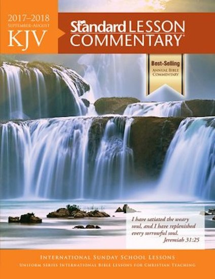 KJV Standard Lesson Commentary® 2017-2018 - cover