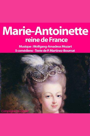 Marie Antoinette Reine de France - cover
