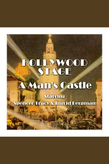 A Man's Castle - Hollywood Stage - cover