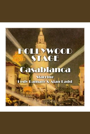 Casablanca - Hollywood Stage - cover