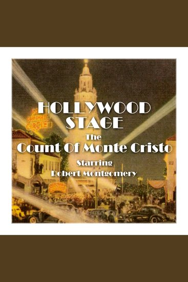 The Count of Monte Cristo - Hollywood Stage - cover