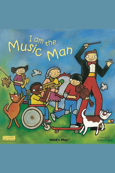I am the Music Man - cover