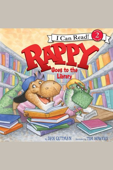 Rappy Goes to the Library - cover