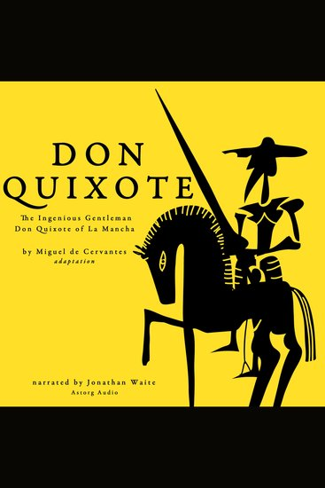 Don Quixote by Miguel Cervantes - cover