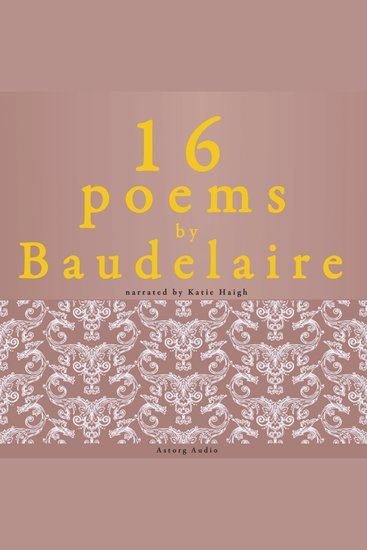 16 Poems by Baudelaire - cover