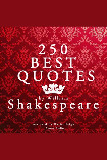 Best Quotes by William Shakespeare - cover